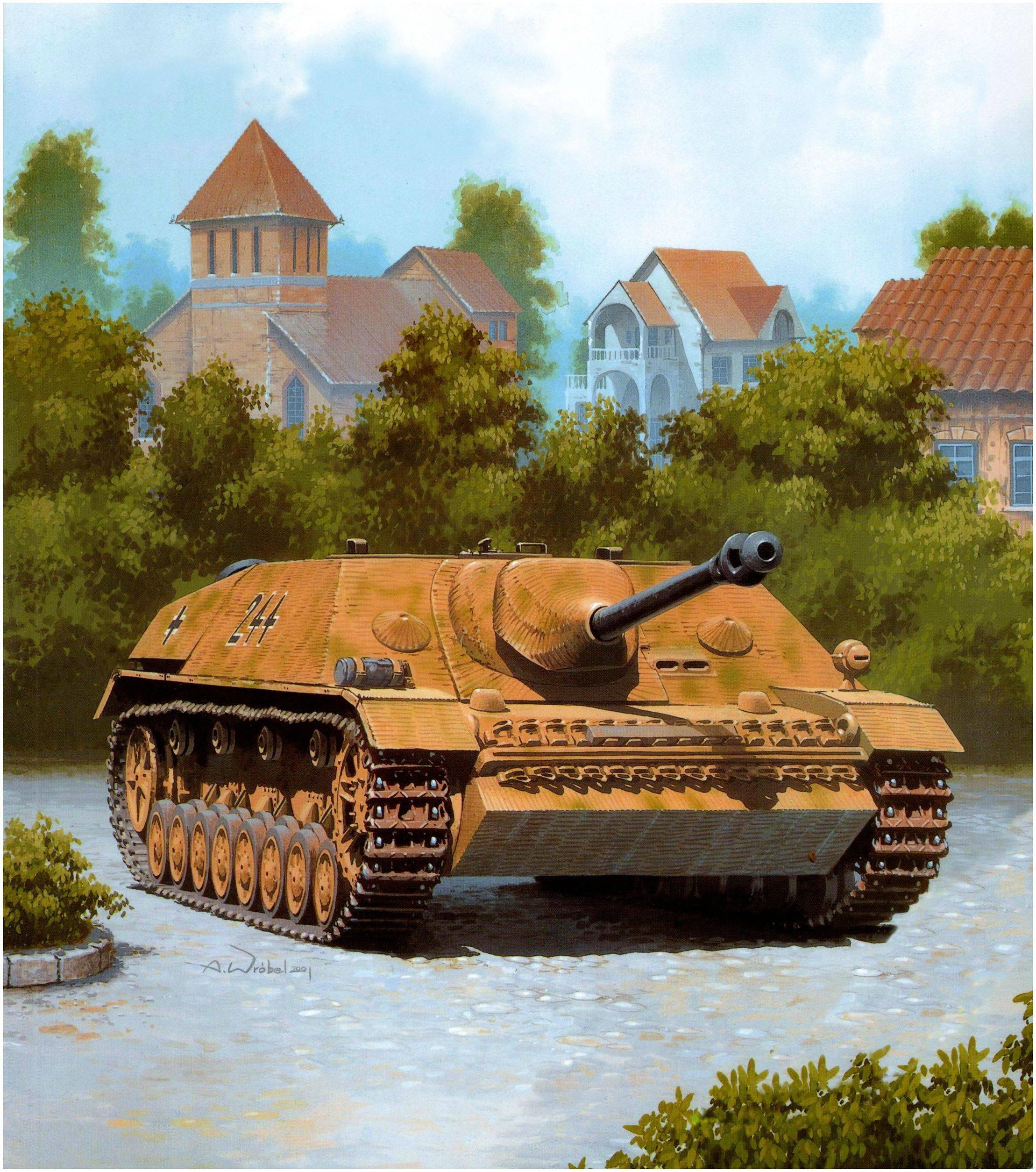 Wróbel Arkadiusz. САУ JagdPz IV/70(A).