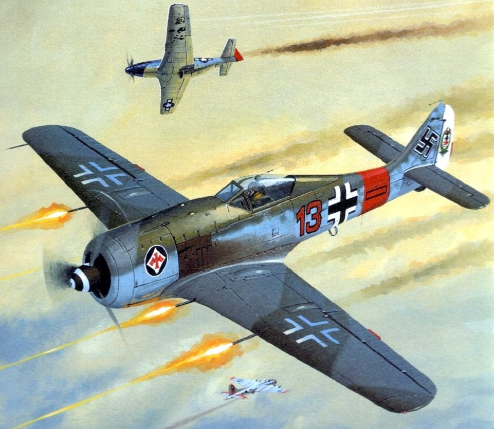 Wrobel Jaroslaw. Истребитель Fw-190.