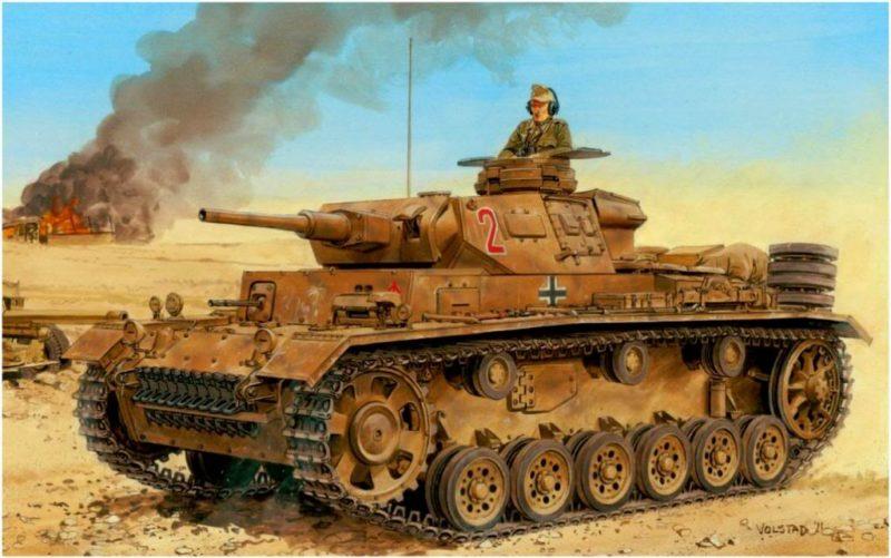 Volstad Ronald. Танк Panzer III Ausf J.
