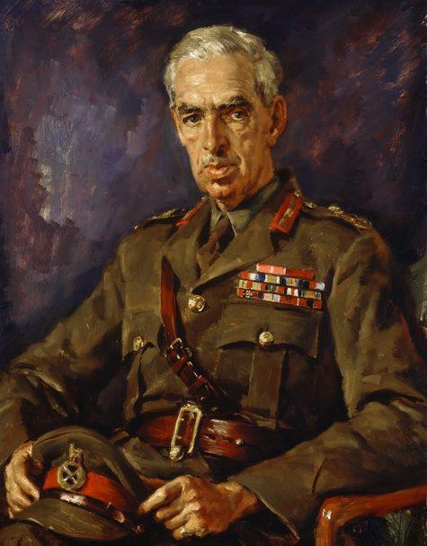 Hele Ivor. Генерал-лейтенант Sydney Rowell.