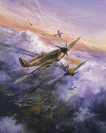Lowe Wes. Истребители Spitfire.