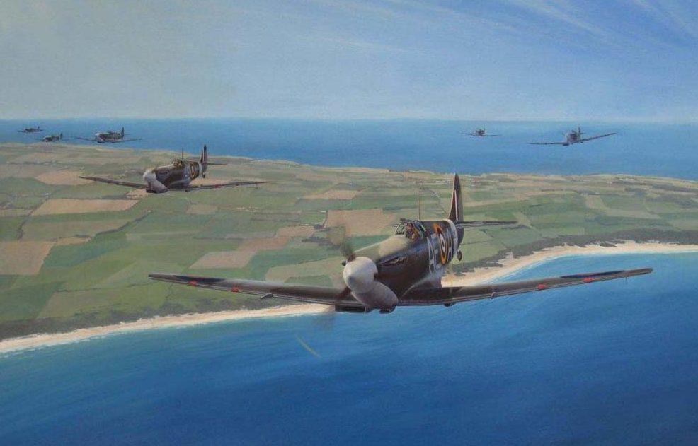 Heyen Steven. Истребитель Spitfire LF VB.