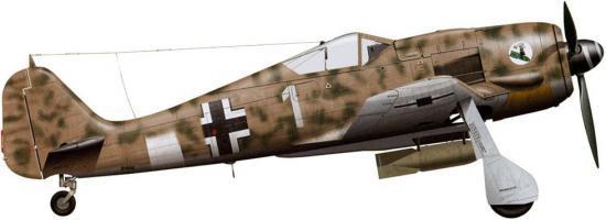 Tullis Tom. Истребитель Fw-190 F-8.