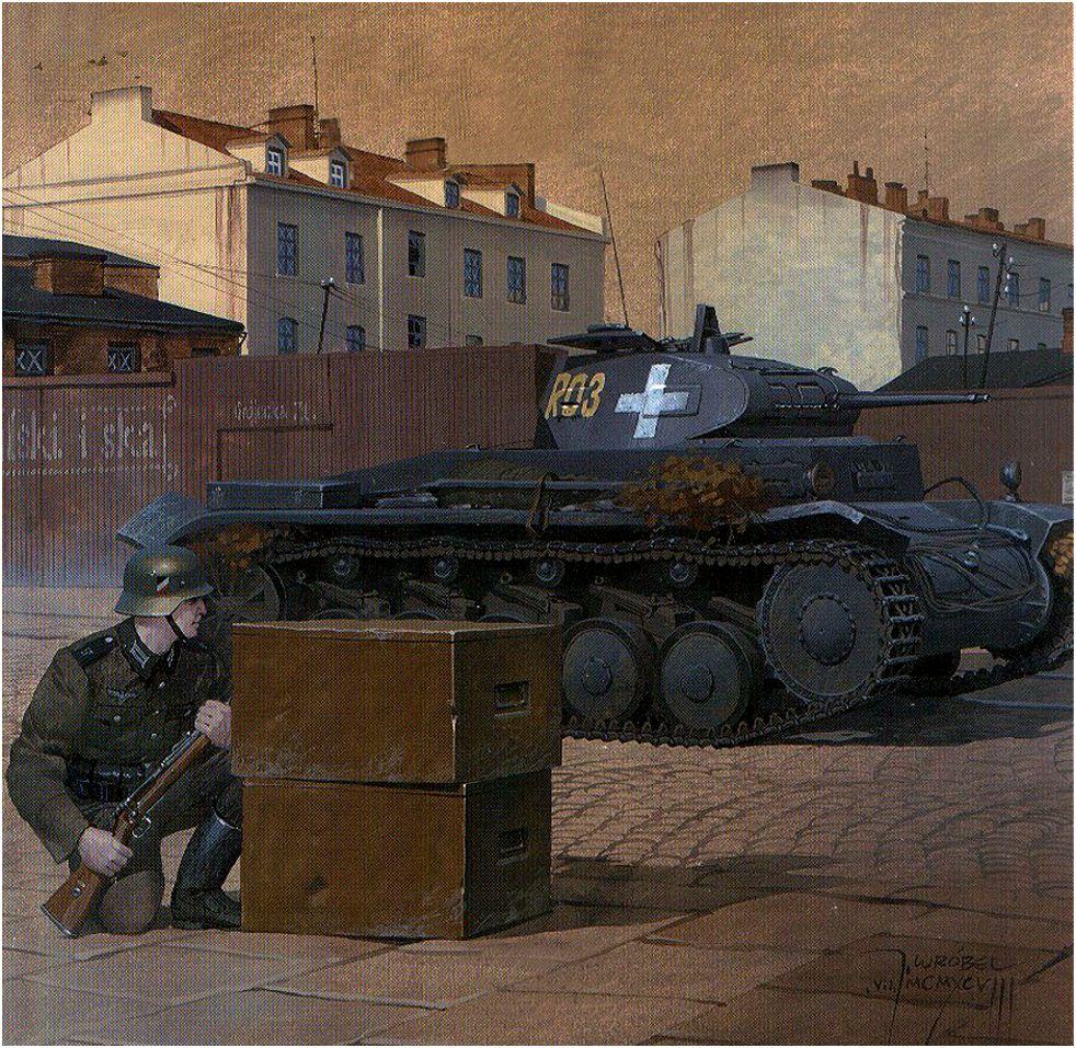 Wrobel Jaroslaw. Танк Panzer II.