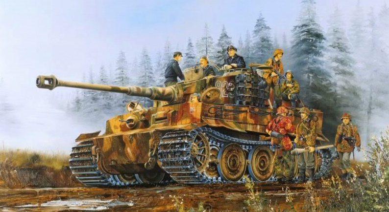 Wilson Randall. Танк Tiger-I.