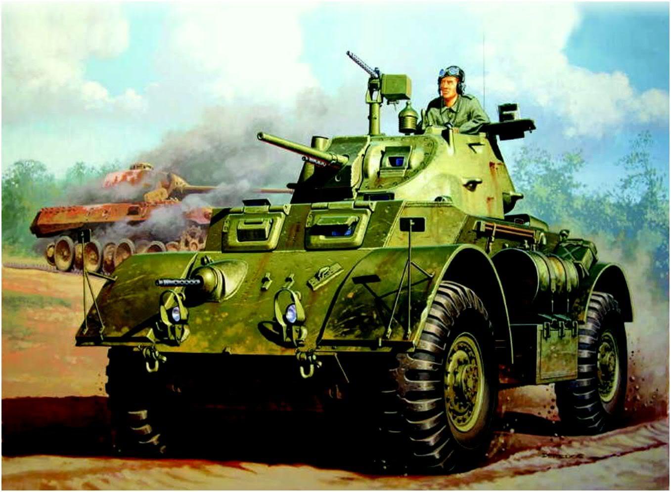 Deredos Andrzej. Бронеавтомобиль T-17E1.