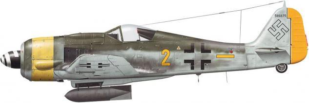 Tullis Tom. Истребитель Fw-190 F-8/R-1.