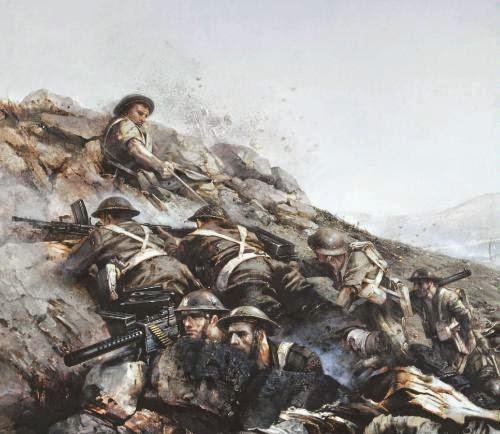 Garwatowski Stefan. Битва в Monte Cassino.