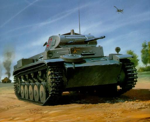 Wrobel Jaroslaw. Танк Panzer II Ausf C.