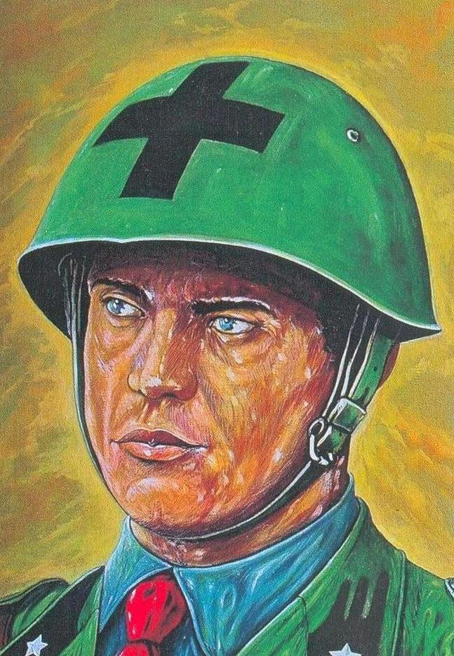 Parducci Alberto. Офицер кавалерии.