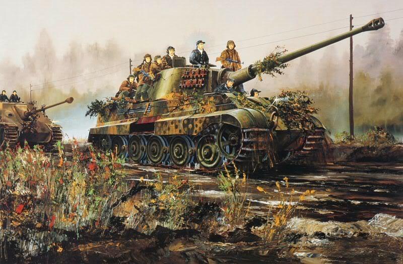 Wilson Randall. Танк Tiger-II.