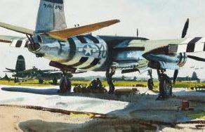 Pleissner Ogden. Бомбардировщик В-26.
