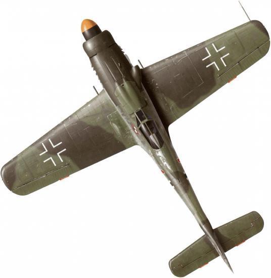 Tullis Tom. Истребитель Fw-190 D-9.