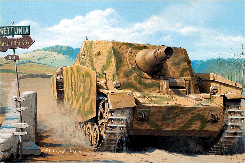 Wróbel Arkadiusz. САУ Sturmpanzer IV Brummbar.