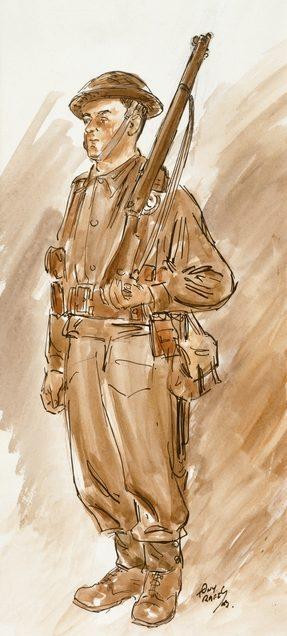 Rafty Tony. Младший сержант Henry John Dixon.