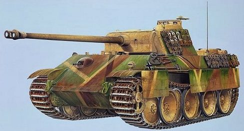 Wilson Randall. Танк Panther G.