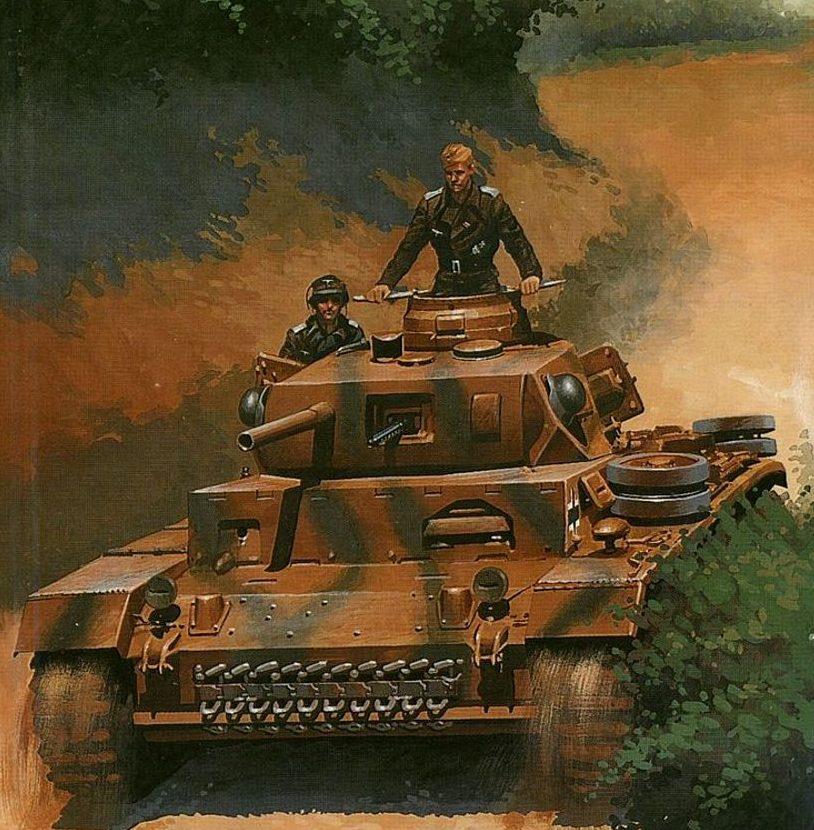 Wrobel Jaroslaw. Танк Panzerbefehlswagen II Ausf.