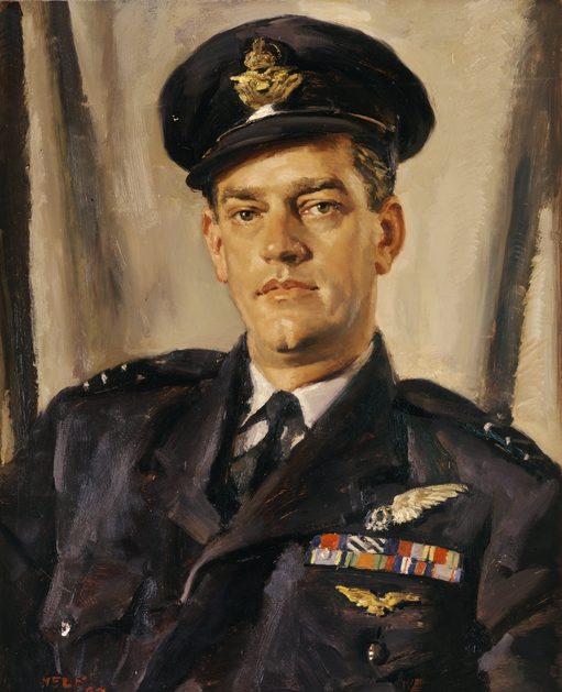 Hele Ivor. Офицер авиации Charles Falkinder.