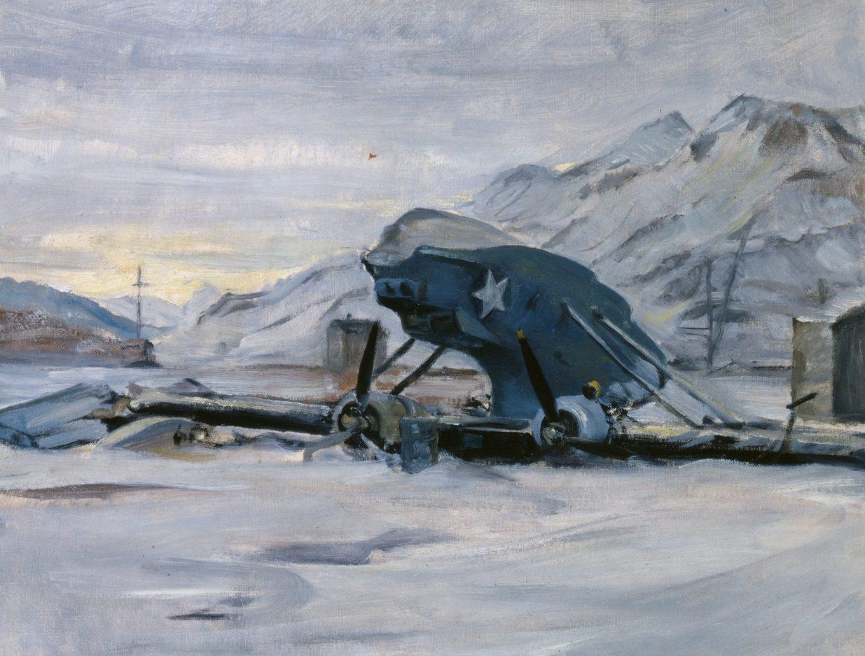 Draper William. Летающая лодка после бури.
