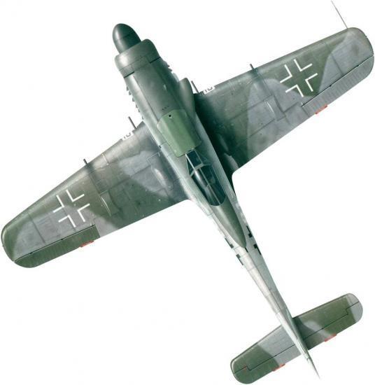 Tullis Tom. Истребитель Fw-190 D-11.