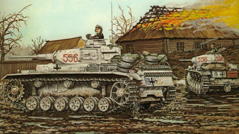 Volstad Ronald. Танк PzKpfw III.