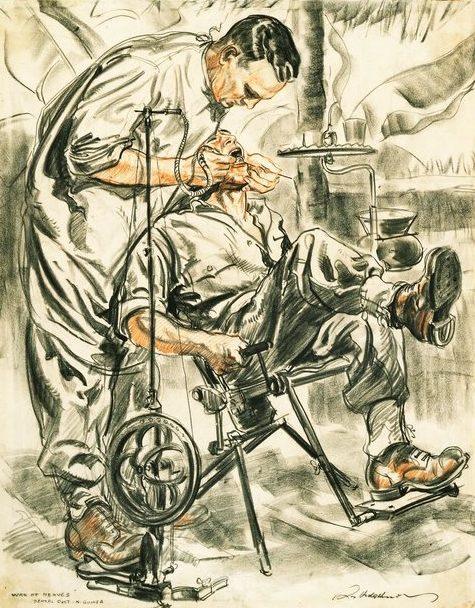 Hodgkinson Roy. Стоматолог.