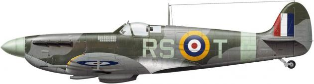 Tullis Tom. Истребитель Supermarine Spitfire Mk.Vb.