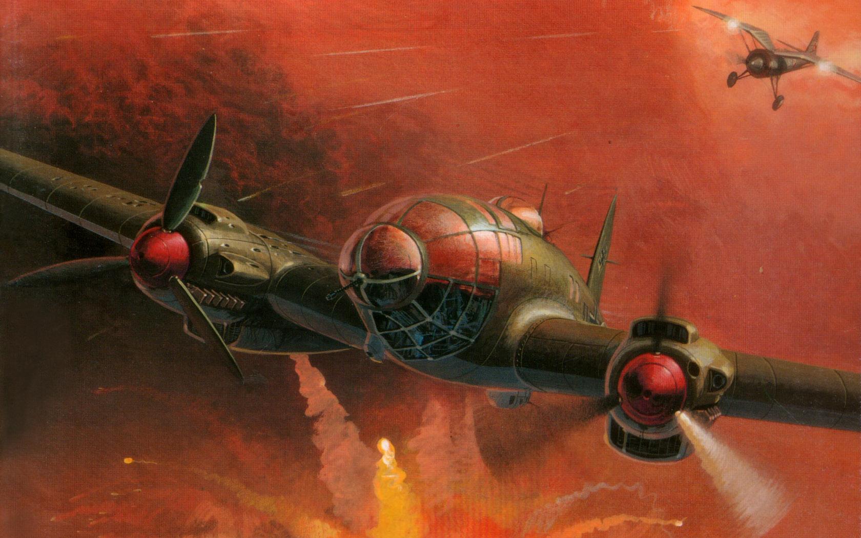 Wrobel Jaroslaw. Бомбардировщик He-111.