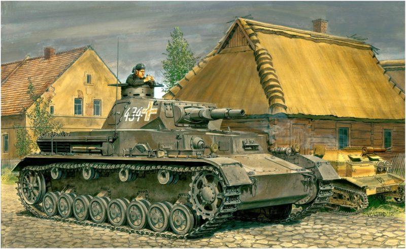 Volstad Ronald. Танк Pz.Kpfw.IV Ausf.A.