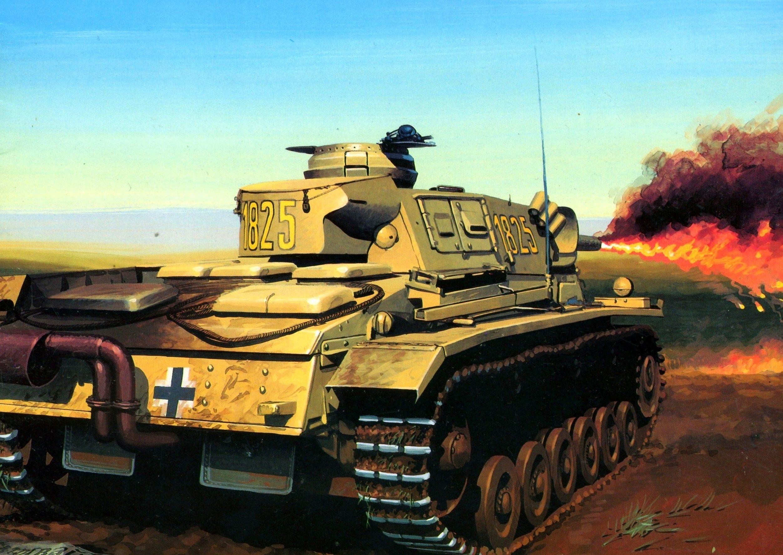 Wrobel Jaroslaw. Огнеметный танк Flammpanzer III.