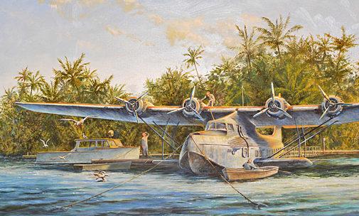 Lowe Wes. База летающих лодок.
