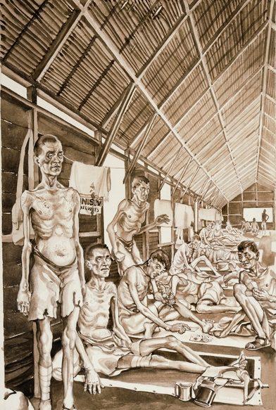 Murray Griffin. Выжившие в Таиланде.