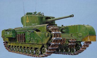 Wilson Randall. Танк Churchill MK7.