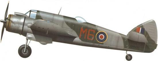 Tullis Tom. Бомбардировщик Bristol Beaufighter Mk.VIF.
