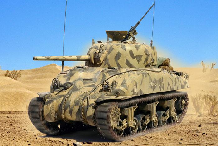Zaloga Steven. Танк M-4A1.