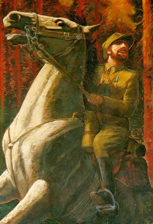Walczak Zdzisław. Командир польской конницы. Henryk Dobrzański.