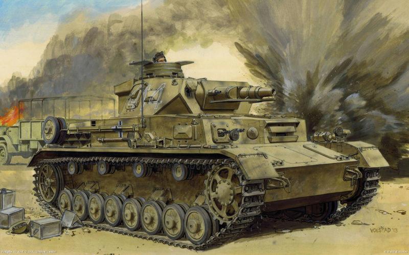 Volstad Ronald. Танк Pz.Kpfw.IV Ausf. D.