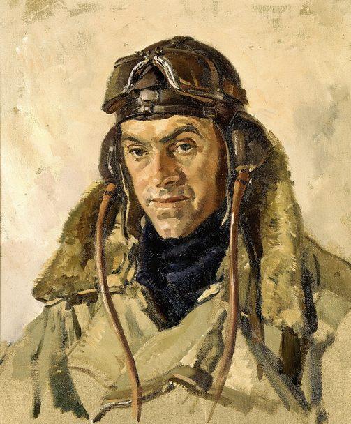 Hele Ivor. Лейтенант Gerald Major.