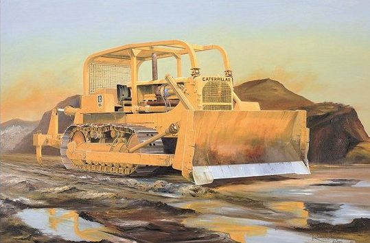 Wilson Randall. Военный бульдозер D-9.