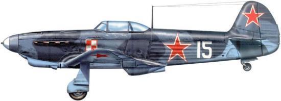 Tullis Tom. Истребитель Як-1В.