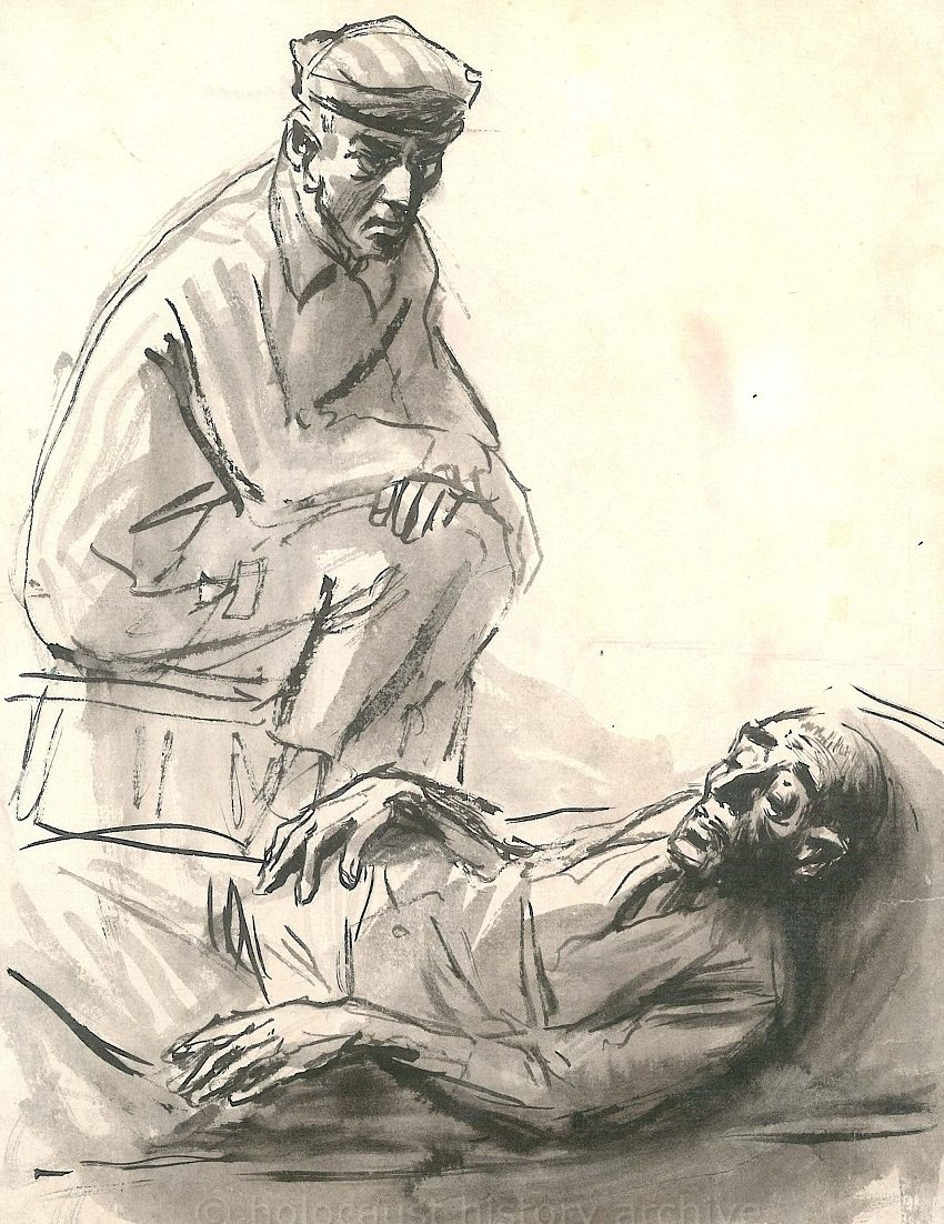 Koscielniak Mieczyslaw. Перед смертью.