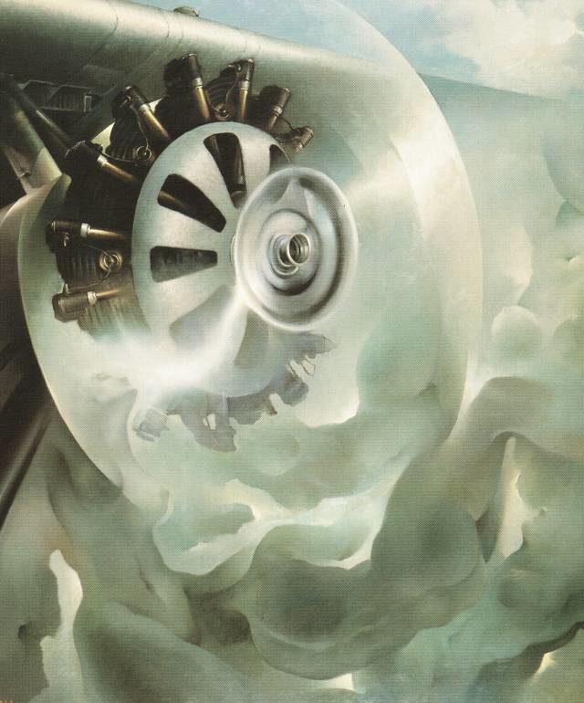 Crali Tullio. Двигатели самолета.