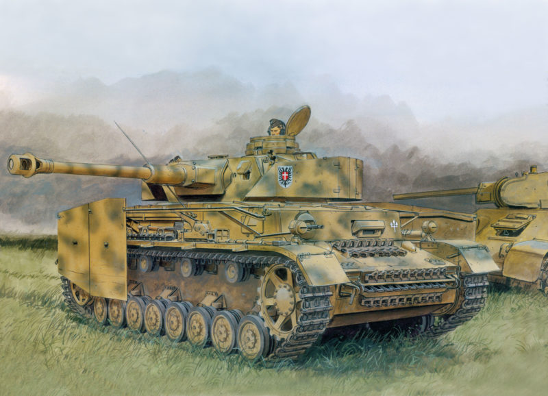 Volstad Ronald. Танк PzKpfw IV Ausf G.