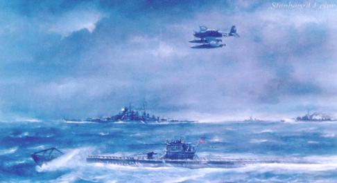 Godines Henry. Линкор «Bismarck».