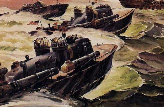 Beaumont Arthur. Москитный флот.