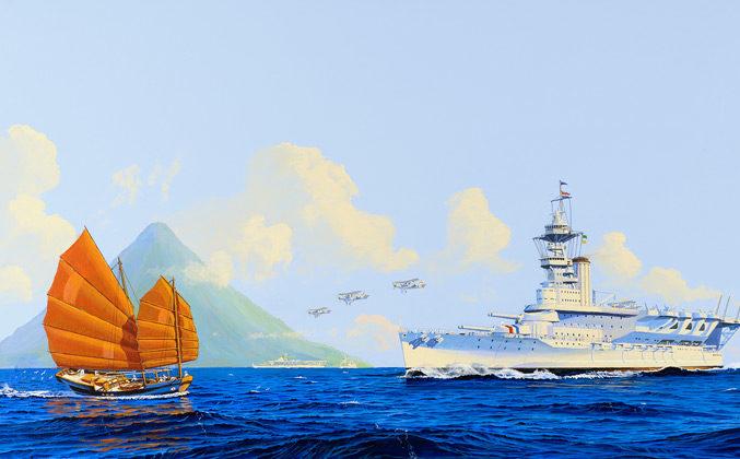 Flood James. Авианесущий крейсер ВМС Голландии.