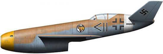Tullis Tom. Истребитель Messerschmitt P.1106.