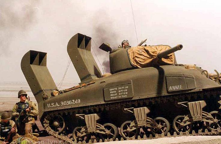 Zaloga Steven. Танк M-4A1.D-Day.