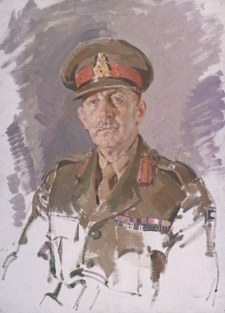 Hele Ivor. Генерал-лейтенант Iven Mackay.