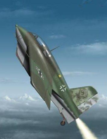 Tullis Tom. Истребитель Messerschmitt Me-163 B-1a.